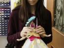 Atelier Design vestimentar Creatie rochie cu decoratiuni origami Ana 130x98 Atelier design vestimentar, Copii 8 18 ani