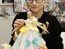 Atelier Design vestimentar Creatie rochie cu decoratiuni origami Ilinca 130x98 Atelier design vestimentar, Copii 8 18 ani