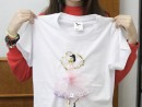 Atelier Design vestimentar Creatie tricou cu balerina Anastasia 130x98 Atelier design vestimentar, Copii 8 18 ani