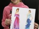 Atelier Design vestimentar Stilul Elegant Eva 130x98 Atelier design vestimentar, Copii 8 18 ani