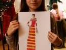 Atelier design vestimentar Costumul in Renastere Pictura in acuarela Ilinca 130x98 Atelier design vestimentar, Copii 8 18 ani