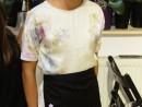 Design Vestimentar Briosa brodata pe sort Eva 130x98 Atelier design vestimentar, Copii 8 18 ani