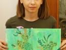 Design Vestimentar Broderie cu dantela in penita Ioana R 130x98 Atelier design vestimentar, Copii 8 18 ani