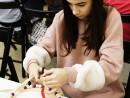 Design Vestimentar Colier cusut cu margele Ana 130x98 Atelier design vestimentar, Copii 8 18 ani