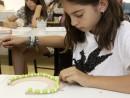 Design Vestimentar Colier cusut cu margele Anastasia 130x98 Atelier design vestimentar, Copii 8 18 ani