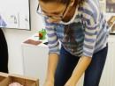 Design Vestimentar Colier cusut cu margele Andreea 130x98 Atelier design vestimentar, Copii 8 18 ani