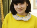 Design Vestimentar Colier cusut cu margele Briana 130x98 Atelier design vestimentar, Copii 8 18 ani