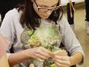 Design Vestimentar Colier cusut cu margele Ilinca1 130x98 Atelier design vestimentar, Copii 8 18 ani