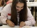 Design Vestimentar Colier cusut cu margele Irina 130x98 Atelier design vestimentar, Copii 8 18 ani