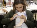 Design Vestimentar Colier cusut cu margele Lera 130x98 Atelier design vestimentar, Copii 8 18 ani