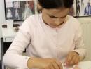 Design Vestimentar Colier cusut cu margele Manuela 130x98 Atelier design vestimentar, Copii 8 18 ani
