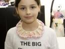 Design Vestimentar Colier cusut cu margele Manuela1 130x98 Atelier design vestimentar, Copii 8 18 ani