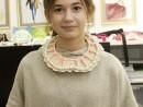 Design Vestimentar Colier cusut cu margele Mara1 130x98 Atelier design vestimentar, Copii 8 18 ani