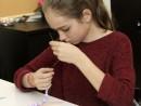 Design Vestimentar Colier cusut cu margele Miruna 130x98 Atelier design vestimentar, Copii 8 18 ani