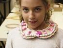 Design Vestimentar Colier cusut cu margele Teuta 130x98 Atelier design vestimentar, Copii 8 18 ani