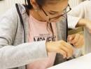 Design Vestimentar Colier cusut cu margele Viviana 130x98 Atelier design vestimentar, Copii 8 18 ani