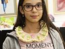 Design Vestimentar Colier cusut cu margele Viviana1 130x98 Atelier design vestimentar, Copii 8 18 ani