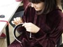 Design Vestimentar Cordeluta cusuta si decorata Briana 130x98 Atelier design vestimentar, Copii 8 18 ani