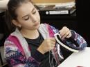 Design Vestimentar Cordeluta cusuta si decorata Ioana 130x98 Atelier design vestimentar, Copii 8 18 ani
