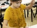 Design Vestimentar Cordeluta cusuta si decorata Mara 130x98 Atelier design vestimentar, Copii 8 18 ani