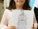 Design Vestimentar Costum contemporan in creioane cerate Ayana 130x98 Atelier design vestimentar, Copii 8 18 ani