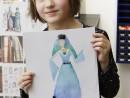 Design Vestimentar Costumul in Evul Mediu Ilinca 130x98 Atelier design vestimentar, Copii 8 18 ani