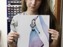 Design Vestimentar Costumul in Evul Mediu Maria 130x98 Atelier design vestimentar, Copii 8 18 ani