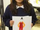 Design Vestimentar Costumul in asia ilustratie in acuarela si creioane acuarelabile Denisa 130x98 Atelier design vestimentar, Copii 8 18 ani