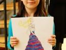 Design Vestimentar Craiasa primaverii Ilustratie in creioane cerate Daria 130x98 Atelier design vestimentar, Copii 8 18 ani