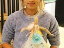 Design Vestimentar Creatie rochie cu origami Ioana 130x98 Atelier design vestimentar, Copii 8 18 ani