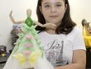 Design Vestimentar Creatie rochie din origami Irina 130x98 Atelier design vestimentar, Copii 8 18 ani