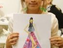 Design Vestimentar Creatie rochie haute couture Ioana 130x98 Atelier design vestimentar, Copii 8 18 ani