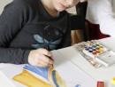 Design Vestimentar Creatie vestimentara Roma antica Acuarele Ioana 130x98 Atelier design vestimentar, Copii 8 18 ani