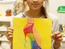 Design Vestimentar Desen in pastel cretat Creatie pantofi Ioana 130x98 Atelier design vestimentar, Copii 8 18 ani