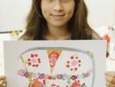 Design Vestimentar Geanta cu imprimeu Ioana 130x98 Atelier design vestimentar, Copii 8 18 ani