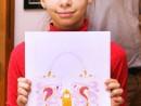 Design Vestimentar Geanta cu imprimeu Maria 130x98 Atelier design vestimentar, Copii 8 18 ani