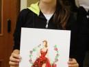 Design Vestimentar Ilustratie Fashion Flori in acuarele markere Anastasia 130x98 Atelier design vestimentar, Copii 8 18 ani