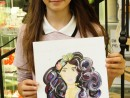 Design Vestimentar Ilustratie Fashion Sunny Gu Anastasia 130x98 Atelier design vestimentar, Copii 8 18 ani