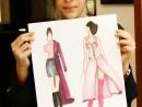 Design Vestimentar Ilustratie Stilul Elegant Maria 130x98 Atelier design vestimentar, Copii 8 18 ani