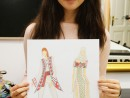 Design Vestimentar Ilustratie Stilul Traditional Delia 130x98 Atelier design vestimentar, Copii 8 18 ani