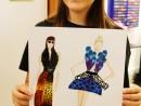 Design Vestimentar Ilustratie trend Animal Print Daria 130x98 Atelier design vestimentar, Copii 8 18 ani