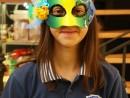Design Vestimentar Masca pictata si decorata Ilinca 130x98 Atelier design vestimentar, Copii 8 18 ani