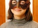 Design Vestimentar Masca pictata si decorata Julia 130x98 Atelier design vestimentar, Copii 8 18 ani