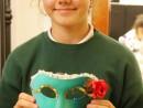 Design Vestimentar Masca pictata si decorata Maria 130x98 Atelier design vestimentar, Copii 8 18 ani