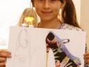 Design Vestimentar Pantofi cu imprimeu Ioana 130x98 Atelier design vestimentar, Copii 8 18 ani