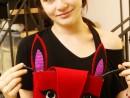 Design Vestimentar Poseta Iepuras cusuta si decorata Briana 130x98 Atelier design vestimentar, Copii 8 18 ani