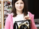 Design Vestimentar Poseta cusuta in stilul Punk Stefania 130x98 Atelier design vestimentar, Copii 8 18 ani