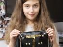 Design Vestimentar Poseta cusuta in stilul Punk Teuta1 130x98 Atelier design vestimentar, Copii 8 18 ani