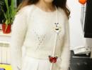 Design Vestimentar Poseta cusuta si decorata Alexandra 130x98 Atelier design vestimentar, Copii 8 18 ani