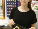 Design Vestimentar Poseta cusuta si decorata Iasmina 130x98 Atelier design vestimentar, Copii 8 18 ani